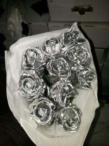 Rosa de cera Prateada