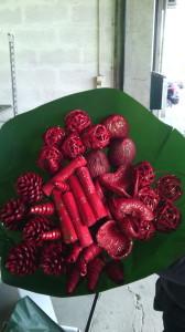 Bouquet Glitter Vermelho